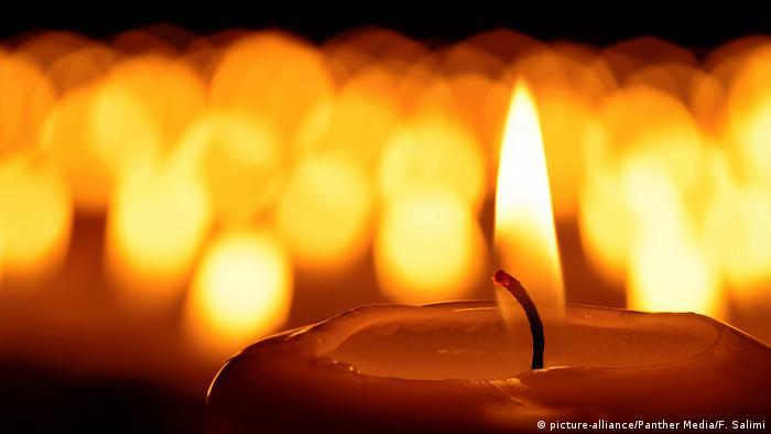 Foto simbólica de una vela