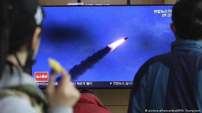 В Южной Корее заявили об испытании двух баллистических ракет, проведенных Пхеньяном