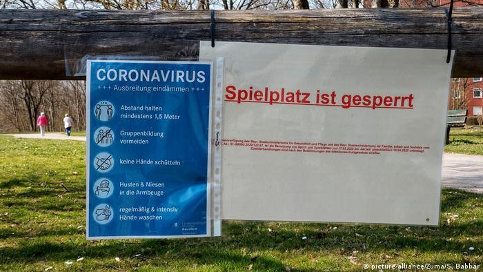 Medidas para evitar contagios en Múnich.