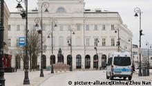 Coronavirus in Polen Warschau Ausgangssperre