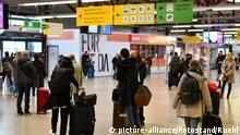 Coronavirus in Berlin Flughafen Tegel