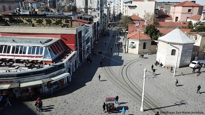 İstanbul trafiğinde koronavirüs durgunluğu