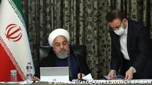 Iran Hassan Rohani (picture-alliance/AA/PRESIDENCY OF IRAN)