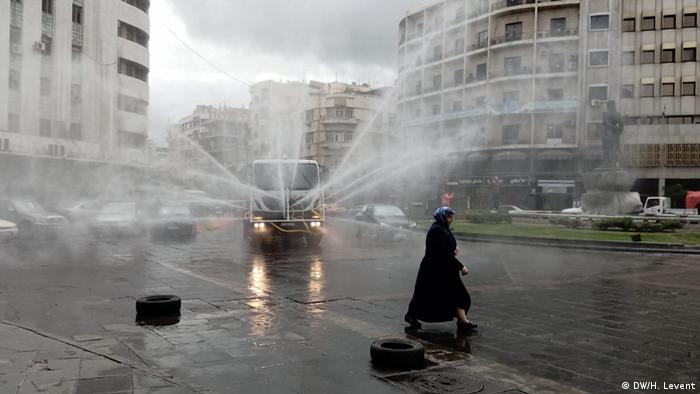 Walka z koronawirusem w Syrii