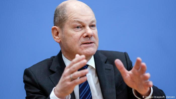Deutschland Bundesfinanzminister Olaf Scholz