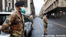 Italien Corona-Pandemie: Fast 800 Tote an einem Tag
