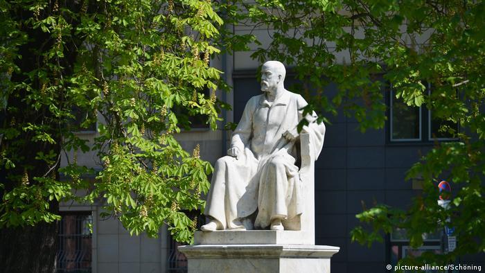 Robert Koch statue in Berlin