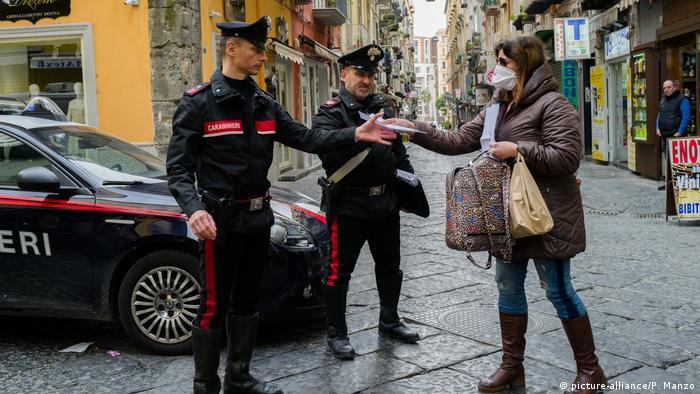 Italien - Coronavirus - Neapel