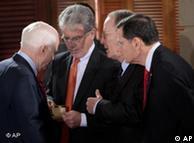 جان مککین  به همراه جمعی از سناتورهای جمهوریخواه