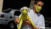 BdTD Venezuela Caracas Corona-Schutz für Mensch und Hund