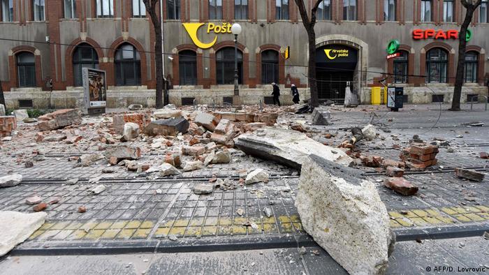 Erdbeben Kroatien Heute