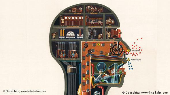 Голова человека - дворца индустрии