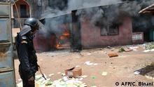 Guinea Conakry Ausschreitungen vor Verfassungsreferendum