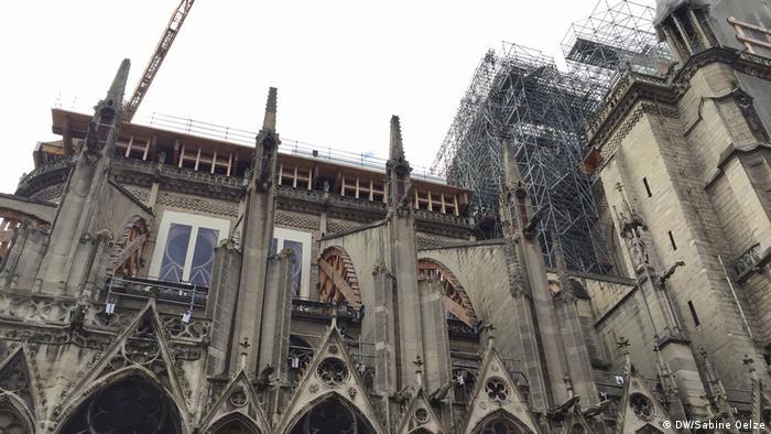 Paris Ein Jahr nach Brand Notre-Dame (DW/Sabine Oelze)