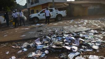 Guinea Conakry Ausschreitungren bei Parlamentswahl