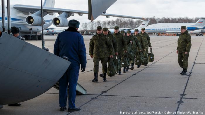 Russland sendet Hilfe um Italien in der Coronakrise beizustehen
