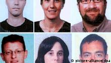 A composite photo released by Dubai's police on 24 February 2010 allegedly shows nine of the new suspects in the killing of a leading Hamas official. Police in Dubai announced 24 February 2010 that they have identified 15 new suspects in the January murder of leading Hamas official Mahmoud al-Mabhouh in the city-state. The new suspects were identified as: (Top row, L-R) David Bernard LaPierre, Melanie Heard and Eric Rassineux, traveling on French passports (2nd row, L-R) Joshua Daniel Bruce, Nicole Sandra Mccabe and Adam Korman, traveling on Australian passports. EPA/DUBAI POLICE HANDOUT BEST QUALITY AVAILABLE EDITORIAL USE ONLY/NO SALES