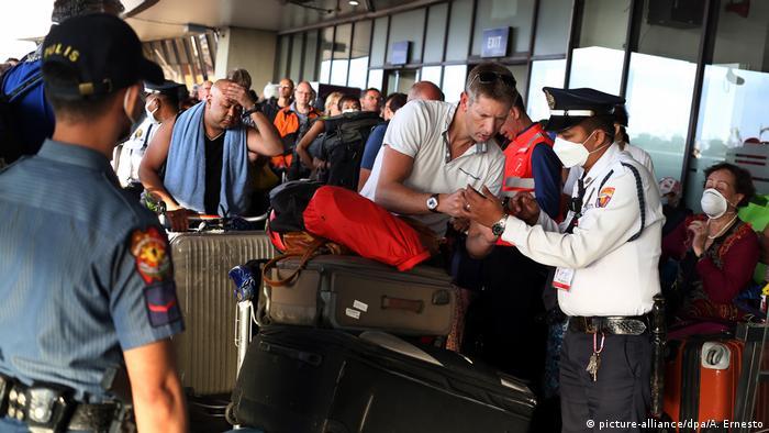 Немецкие туристы на Филиппинах