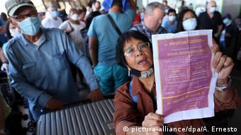 Philippinen | Maas sagt bessere europäische Abstimmung bei der Rückholung von Urlaubern zu
