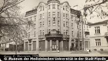 Bulgarien Krankenhaus in der Stadt Plovdiv im Jahr 1928