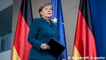 Angela Merkel's approval ratings up amid health crisis