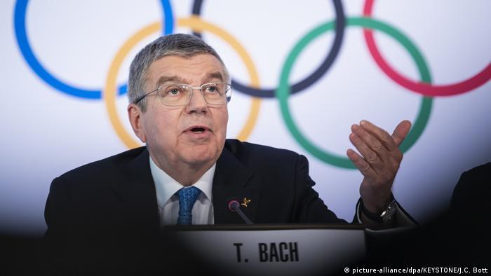 ПрезидентМеждународного олимпийскогокомитета Томас Бах