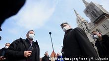 Kroatien Schwerstes Erdbeben seit mehr als hundert Jahren erschüttert Zagreb | Andrej Plenkovic