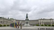 Österreich Wien Hofburg leer Ausgangsbeschränkung (AFP/H. Neubauer)
