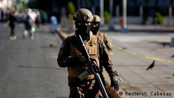 El Salvador Coronavirus Ausgangssperre Militär