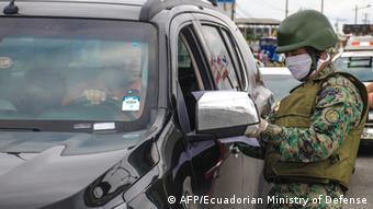 Ecuador Coronavirus Ausnahmezustand Armee kontrolliert