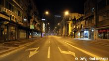 Coronavirus in Serbien Nis Ausgangssperre