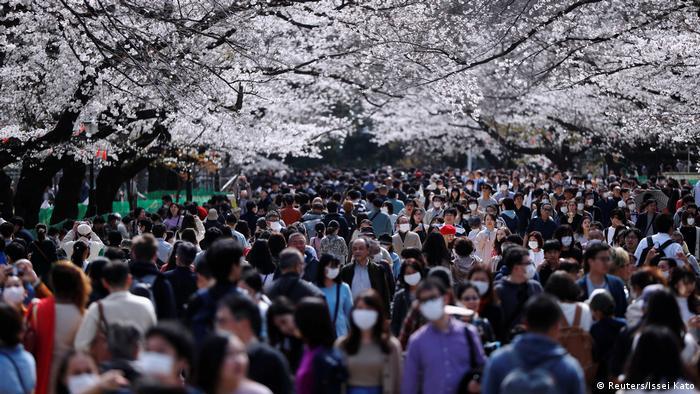 Ueno park u Tokiju, mart 2020.