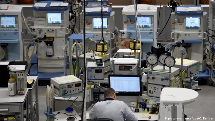For 2020 Medical supply maker Dräger expects sales growth of 14-22%