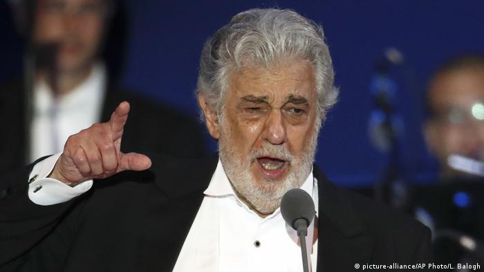 Coronavirus | Placido Domingo positiv getestet (picture-alliance/AP Photo/L. Balogh)