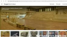 Screenshot Google Pergamonmuseum Berlin