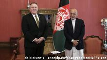 US-Außenminister Pompeo in Afghanistan mit Aschraf Ghani