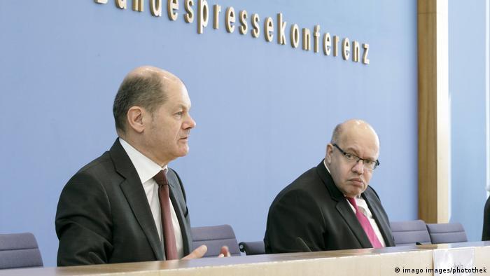 Olaf Scholz i Peter Altmaier