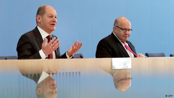 Olaf Scholz, Peter Altmaier (AFP)