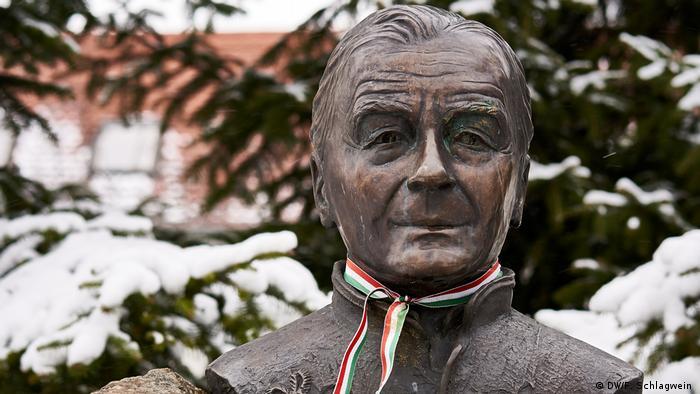 Statue of the nationalist author Albert Wass near Budapest