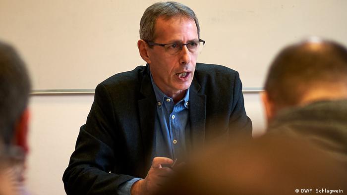 Politologe und Bildungsforscher Peter Rado (DW/F. Schlagwein )