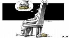 Karikatur von Mana Neystani Jahr der Maus