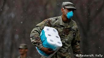 USA New York Citiy | Coronavirus (Reuters/A. Kelly)