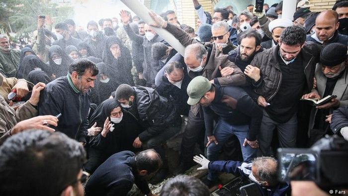 Iran Beisetzung Hossein Asadollahi