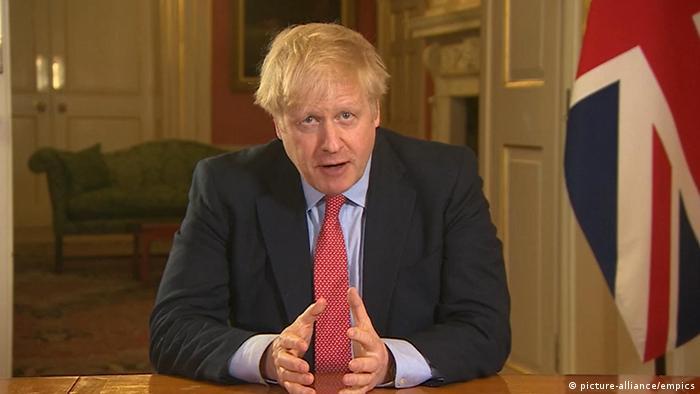 Boris Johnson announces lockdown