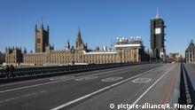 COVID-19:Leere Straßen in London