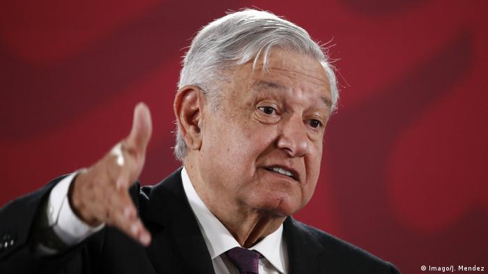 Präsident Andres Manuel Lopez Obrado verspricht Gelder für Brauerei