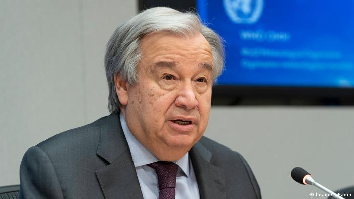 Antonio Guterres, secretário-geral da ONU
