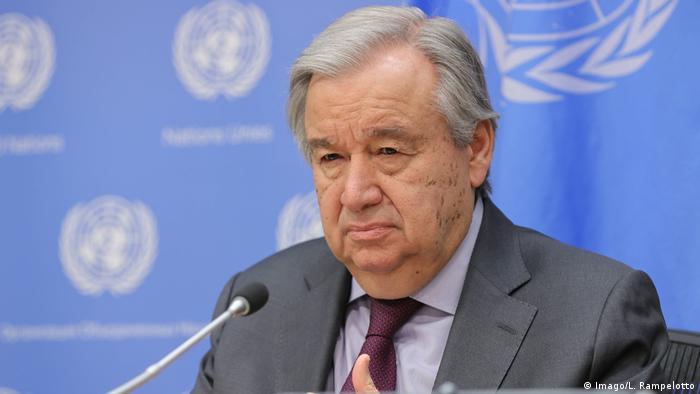 Coronavirus - UN-Generalsekretär Guterres (Imago/L. Rampelotto)