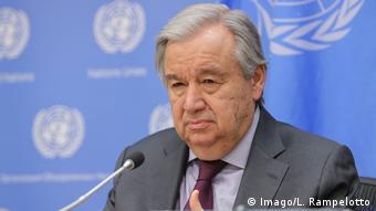 O secretário-geral das Nações Unidas, António Guterres