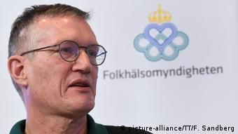 Главный эпидемиолог Швеции Андерс Тегнелл